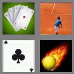 4 pics 1 word 3 letters ace