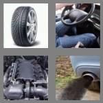 4 pics 1 word 3 letters car