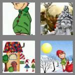 4 pics 1 word 3 letters elf