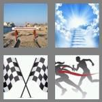 4 pics 1 word 3 letters end