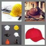 4 pics 1 word 3 letters hat