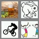 4 pics 1 word 3 letters hop