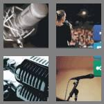 4 pics 1 word 3 letters mic