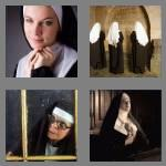 4 pics 1 word 3 letters nun