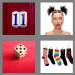 4 pics 1 word 3 letters odd