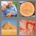 4 pics 1 word 3 letters old