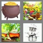 4 pics 1 word 3 letters pot
