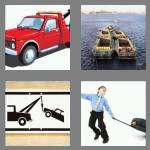 4 pics 1 word 3 letters tow