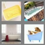 4 pics 1 word 3 letters tub