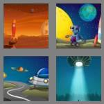 4 pics 1 word 3 letters ufo