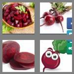 4 pics 1 word 4 letters beet