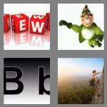 4 pics 1 word 4 letters bold