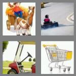 4 pics 1 word 4 letters cart
