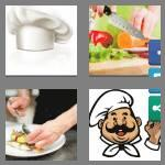 4 pics 1 word 4 letters chef