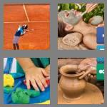 4 pics 1 word 4 letters clay