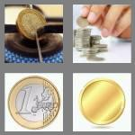 4 pics 1 word 4 letters coin