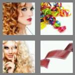 4 pics 1 word 4 letters curl