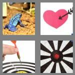 4 pics 1 word 4 letters dart