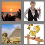 4 pics 1 word 4 letters dawn