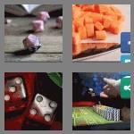 4 pics 1 word 4 letters dice