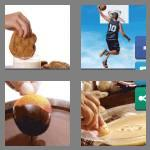 4 pics 1 word 4 letters dunk