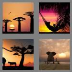 4 pics 1 word 4 letters dusk