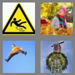 4 pics 1 word 4 letters fall