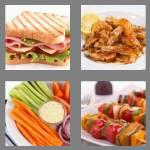 4 pics 1 word 4 letters food