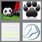 4 pics 1 word 4 letters foot