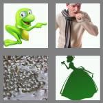 4 pics 1 word 4 letters frog