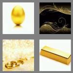 4 pics 1 word 4 letters gold