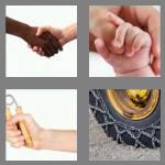 4 pics 1 word 4 letters grip