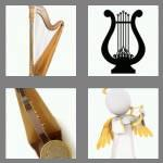 4 pics 1 word 4 letters harp