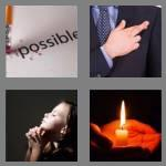 4 pics 1 word 4 letters hope