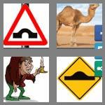 4 pics 1 word 4 letters hump