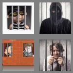4 pics 1 word 4 letters jail