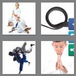 4 pics 1 word 4 letters judo