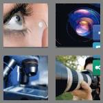 4 pics 1 word 4 letters lens