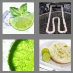 4 pics 1 word 4 letters lime