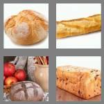 4 pics 1 word 4 letters loaf