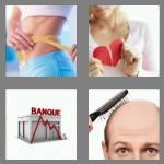 4 pics 1 word 4 letters loss