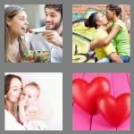4 pics 1 word 4 letters love