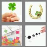 4 pics 1 word 4 letters luck