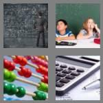 4 pics 1 word 4 letters math