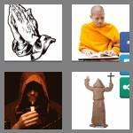 4 pics 1 word 4 letters monk