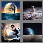4 pics 1 word 4 letters moon