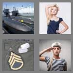 4 pics 1 word 4 letters navy