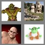 4 pics 1 word 4 letters ogre