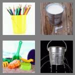 4 pics 1 word 4 letters pail
