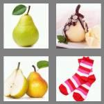 4 pics 1 word 4 letters pear